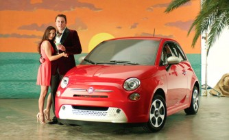 Fiat 500e Gets Environmentally Sexy Advertising Campaign