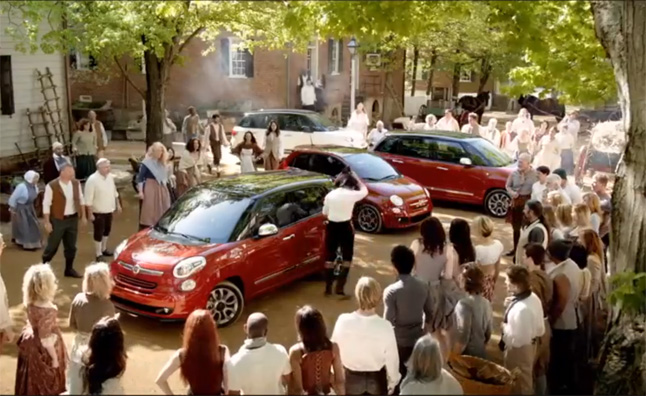 Fiat 500L Ad Puts a Spin on American History – Video