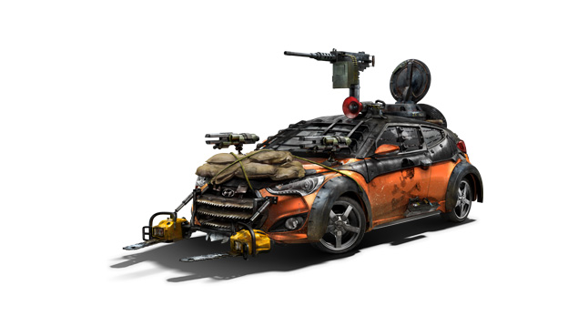 Hyundai Veloster Zombie Fighter to Debut at San Diego Comic-Con