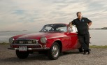 1966 Volvo P1800 Will Reach 3 Million Miles This Year