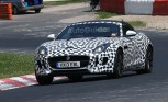 Jaguar F-Type Coupe Spied on Nurburgring
