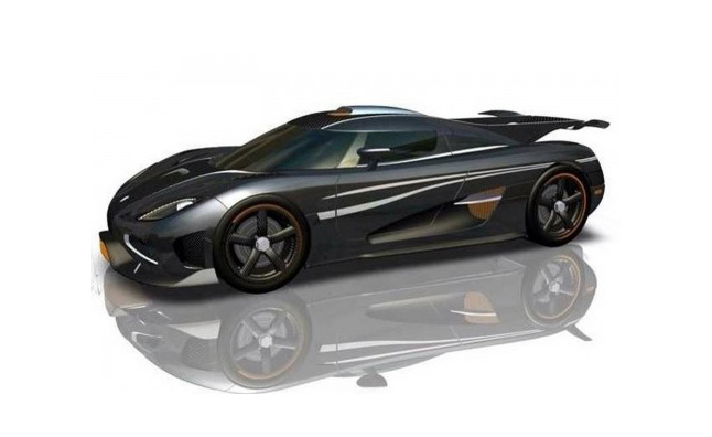 Koenigsegg Agera One:1 Rendered Image Leaked