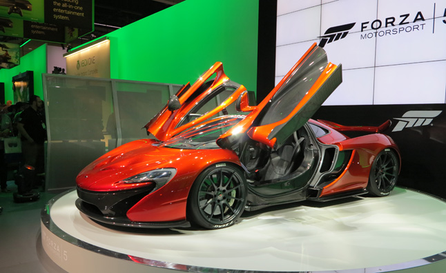 Win a Ride in the McLaren P1