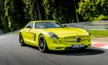 Watch the Mercedes SLS AMG Electric Drive Set a Nurburgring Record