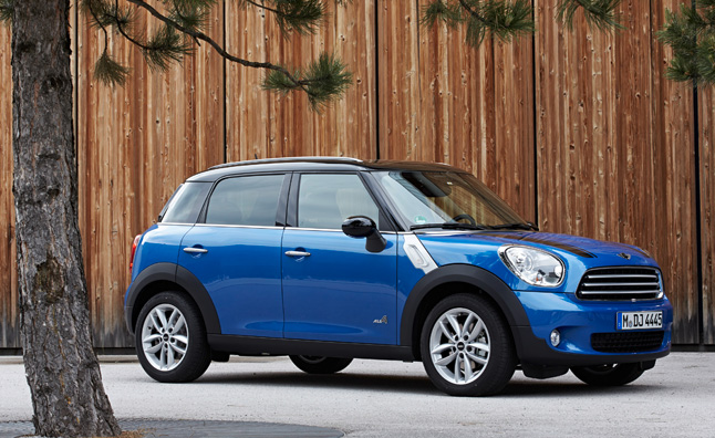 MINI Cooper Countryman, Paceman Get ALL4 All-Wheel Drive