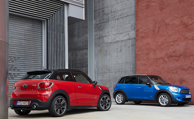 2013 MINI Countryman, Paceman Gain JCW Styling Kits