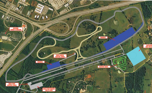 National Corvette Museum's Motorsports Park Groundbreaking Announced