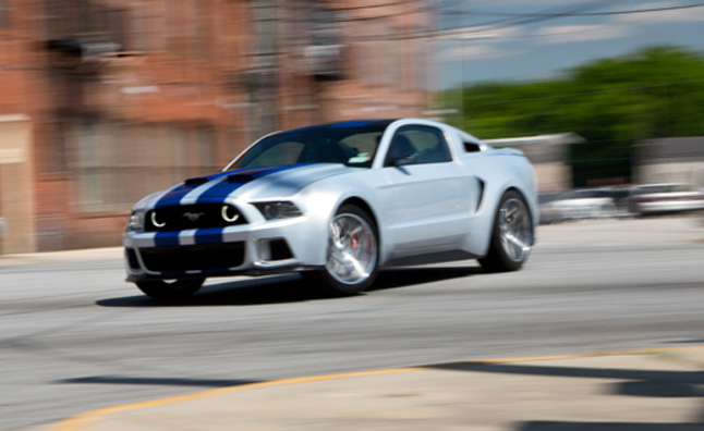 Ford Mustang Takes Lead Role in 'Need for Speed' Movie