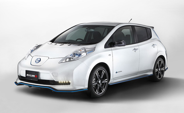 Nissan Leaf NISMO Package Adds More Performance