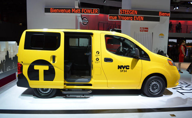 New NYC Taxi Rules Approved, Nissan NV200 Lives On