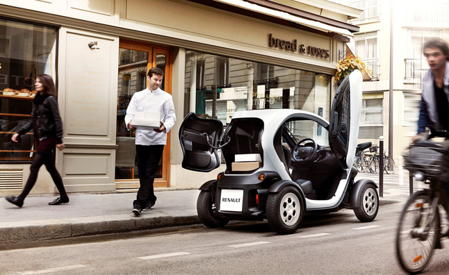 Renault Twizy Cargo EV is a Compact Delivery Vehicle