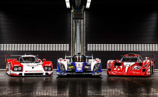 Toyota Le Mans Prototypes Get a Stunning Photo Gallery