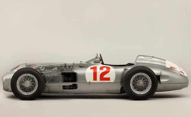 Fangio's Benz Fetches Record-Setting $29.6M at Auction