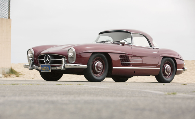 Celebrity Cars Hit the Block at LA Auction