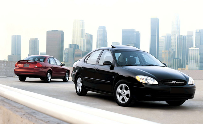 Ford Taurus, Mercury Sable Recalled for Sticky Throttles