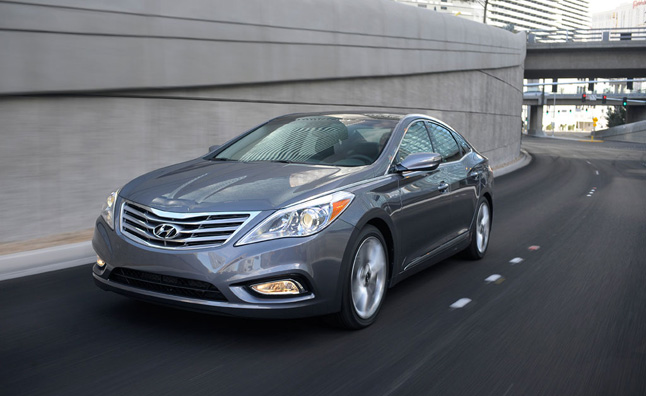 Hyundai Azera Recalled for Occupant Detection Fault