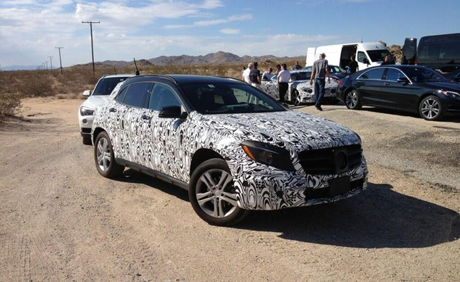 Mercedes GLA Teased by American CEO in Tweet