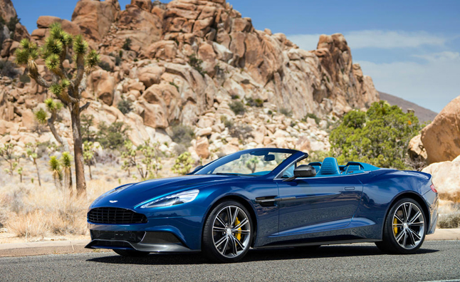 Aston Martin Vanquish Volante to Bow at Pebble Beach