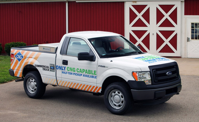 Ford F-150 Natural Gas Option Added for 2014