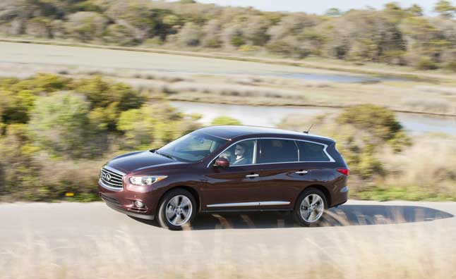 2014 Infiniti QX60, QX70 Pricing Announced