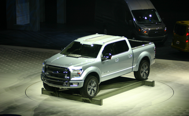 2015 Ford F-150 Aluminum Body on Track for Production