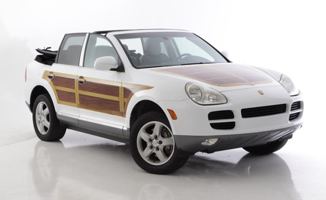 Porsche Cayenne Woodie Convertible: The Worst Thing You'll See Today