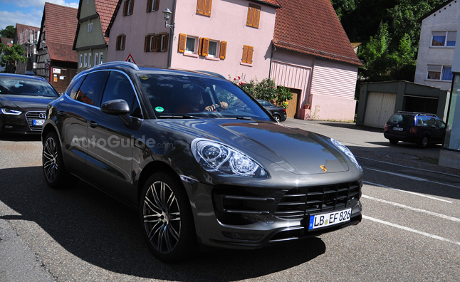 2014 Porsche Macan Spotted Uncovered in Spy Photos