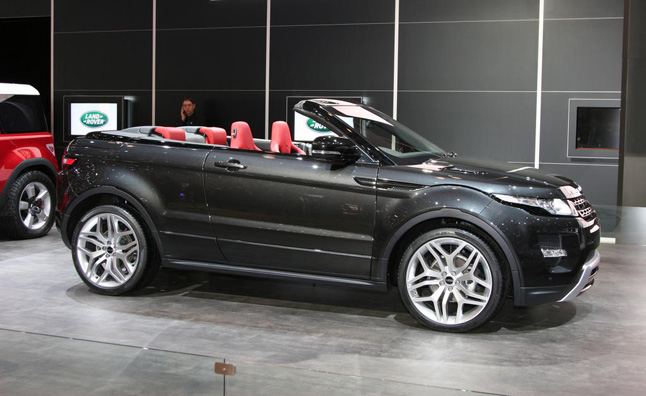 Range Rover Evoque Convertible Still Being Considered