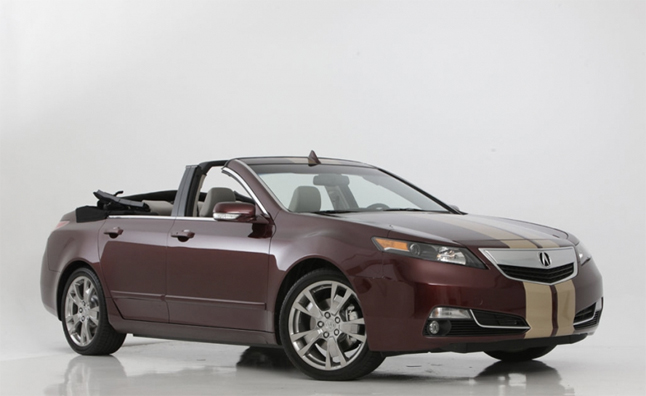 Acura TL Convertible is Odd, Very Odd