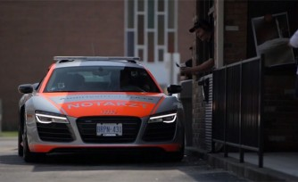Audi Out-of-Warranty Customers Get Surprise Ride in R8