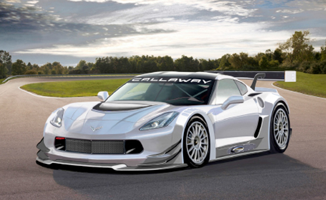 Callaway to Build C7 Chevrolet Corvette GT3