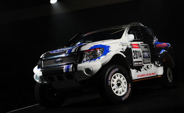 Ford to Race in Dakar With 5.0L Ranger