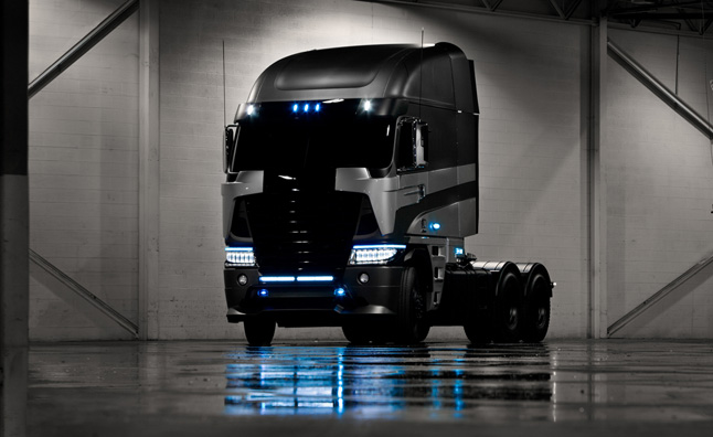 Freightliner Argosy is Likely a Decepticon in Transformers 4