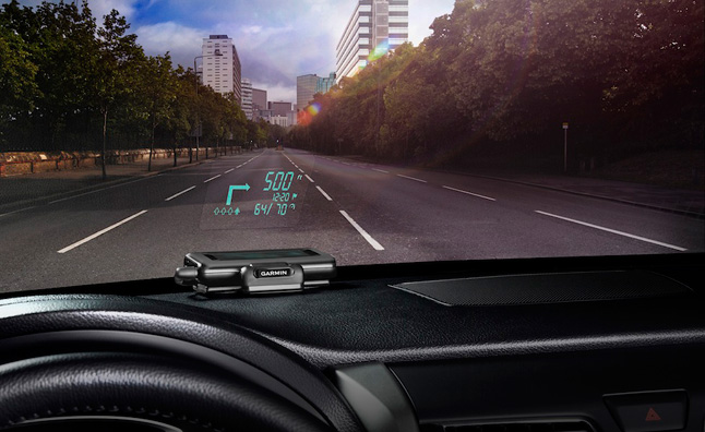 Garmin Heads-up Display Navigation Coming Soon