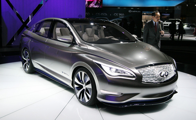 Infiniti Electric Vehicle Delayed for Better Tech: Exec