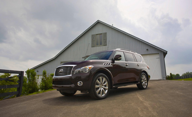 2014 Infiniti QX50, QX80 Pricing Announced