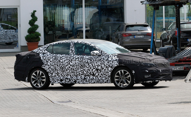 Kia Optima Facelift Spied Testing