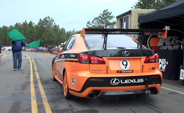 Watch the Lexus IS-F CCS-R Take on Pikes Peak