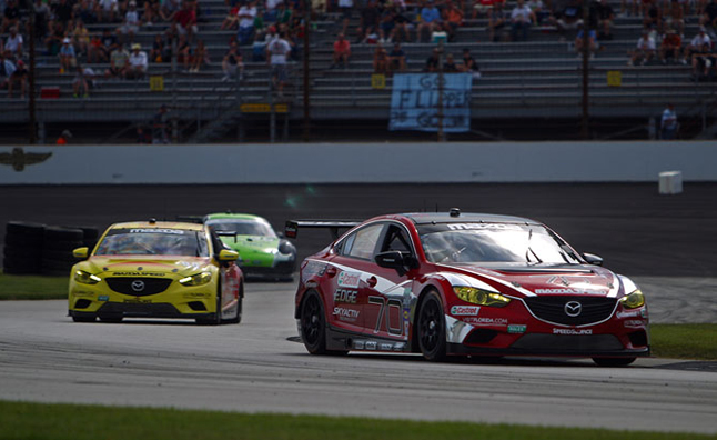 Mazda6 Racer is First Diesel Powered Winner at Indianapolis Motor Speedway