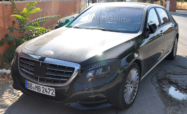 2014 Mercedes-Benz S-Class Long Wheelbase Spied