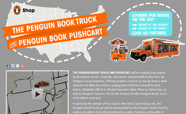 penguin-book-truck
