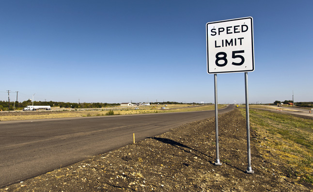 Speeding Can Cut Fuel Efficiency by 30 Percent