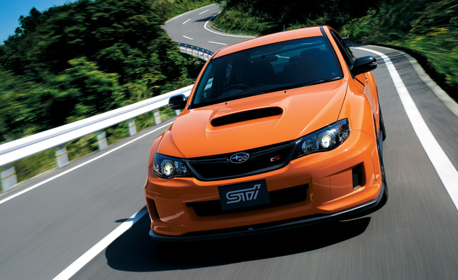 Subaru WRX STI tS Type RA Announced for Japan