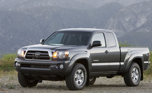 Toyota Issues Recall for 342K Tacomas Over Seatbelts