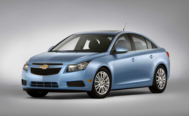 Chevrolet Cruze Recalled for Brake Assist Defect