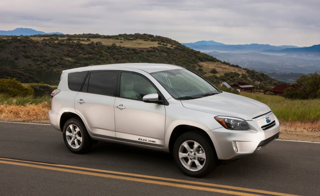 Toyota RAV4 EV Lease Cut to $299 a Month