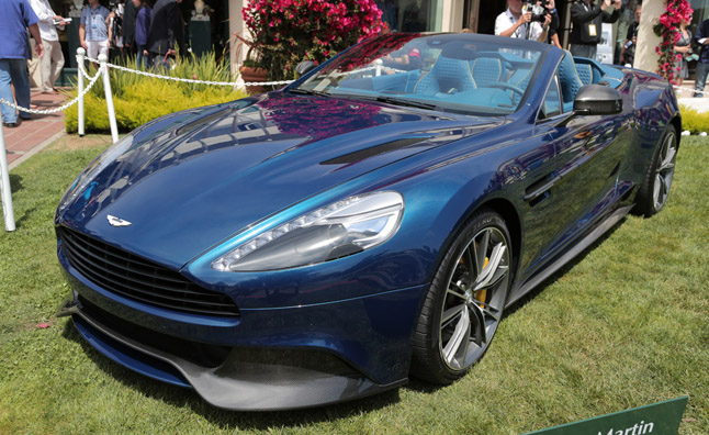 2014 Aston Martin Vanquish Volante Video, First Look