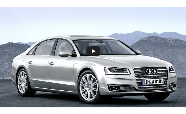 2015 Audi A8 Facelift Revealed Before Official Debut