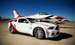 Ford Mustang Thunderbirds Edition Fetches $398,000 at Auction