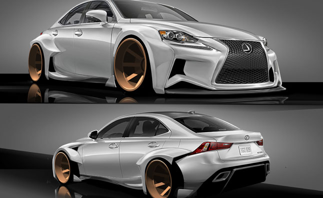 Lexus, DeviantArt Contest Yields Crazy SEMA Designs